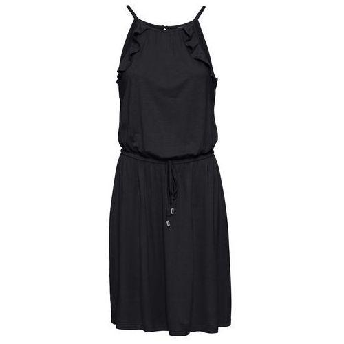 Suknie i sukienki, Sukienka z koronką bonprix ciemnoniebieski