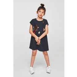 Mango Kids - Sukienka dziecięca Fugaz 110-164 cm