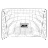 Piłka nożna, Bramka piłkarska MEGA 50,5 mm biała 300x205cm