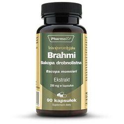 Brahmi Bakopa drobnolistna ekstrakt 20:1 200mg 90 kapsułek PharmoVit