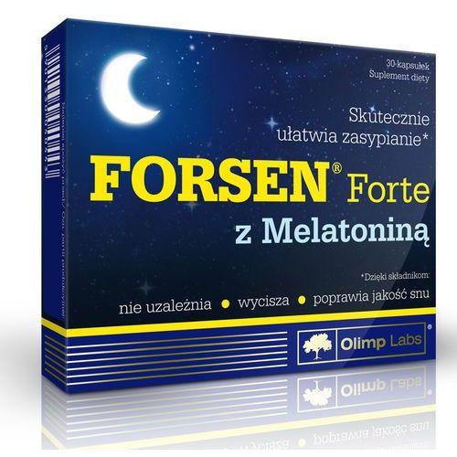Leki nasenne, Olimp Forsen Forte z Melatoniną 30 kaps.