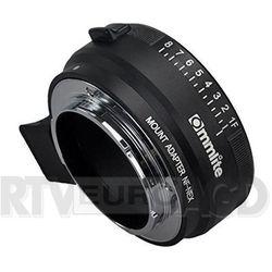 Commlite adapter bagnetowy Sony NEX (E) - Nikon AI/G metalowy