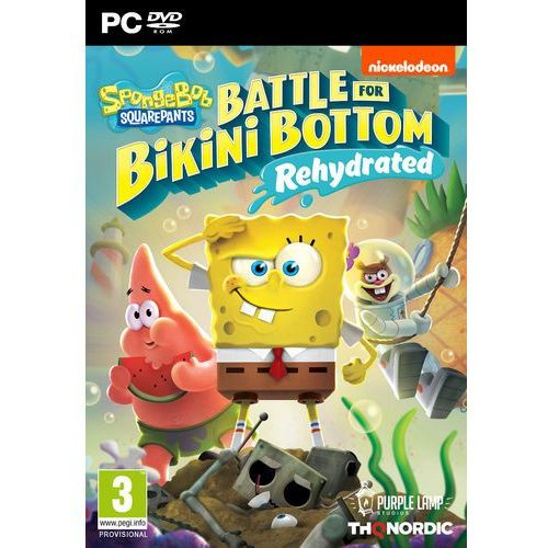 Gry PC, Spongebob SquarePants Battle for Bikini Bottom Rehydrated (PC)