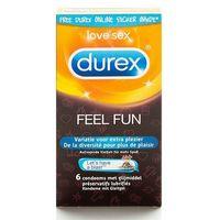 Prezerwatywy, Zestaw prezerwatyw - Durex Emoji Feel Fun Condoms 6 szt