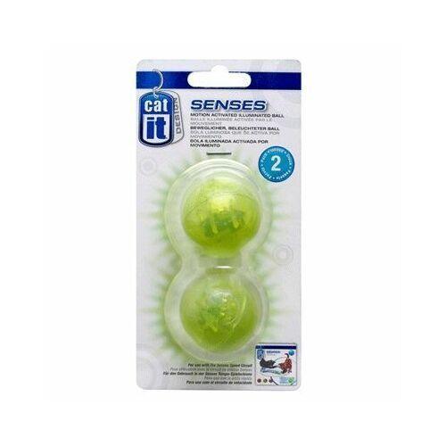 Pozostałe zabawki, 2 piłki do toru Catit Senses 2.0 Play Circuit - 2 zapasowe podświetlane piłki | DARMOWA Dostawa od 99 zł