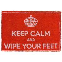 Wycieraczki, Keep calm and wipe your feet