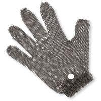 Rękawice ochronne, Rękawica metalowa, z białym zaciskiem | GIESSER, 9590 m 00