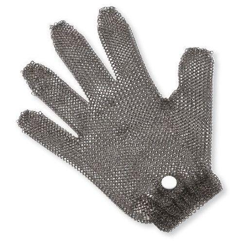 Rękawice robocze, Rękawica metalowa, z białym zaciskiem | GIESSER, 9590 m 00