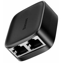 Rozdzielacz / splitter sieciowy Baseus High Speed, Gigabit Ethernet, RJ45, 100m (czarny)