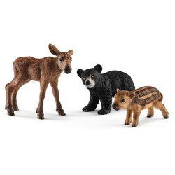 Młode zwierząt leśnych - Schleich
