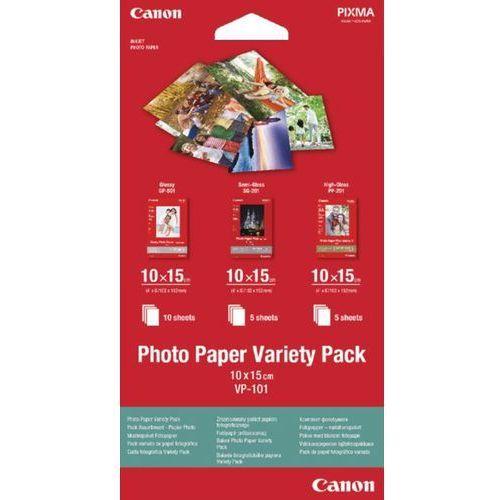Papiery fotograficzne, Canon VP-101, 10x15 (0775B078) Darmowy odbiór w 20 miastach!