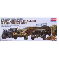 Figurki i postacie, Light Vehicles of Allied & Axis