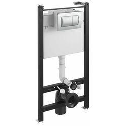 Stelaż podtynkowy WC Roca Active chrom