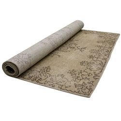 HK Living Wytarty dywan z kolorowej wełny z wzorami (180x280) TTK3012