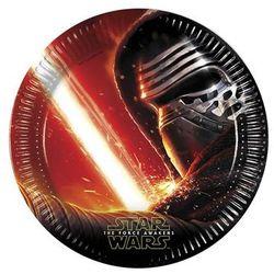 Talerzyki urodzinowe Star Wars - The Force Awakens - 23 cm - 8 szt.