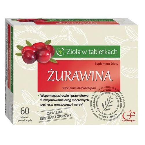 Leki na zapalenie pęcherza, Zurawina, tabl.powl., 60 szt Kurier: 13.75, odbiór osobisty: GRATIS!