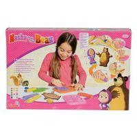 Kreatywne dla dzieci, Masza i Niedźwiedź. Masa plastyczna zestaw