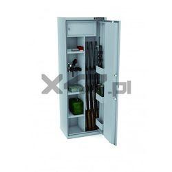 Szafa na broń długą MLB 150D/4+4 EL S1 Konsmetal - zamek elektroniczny