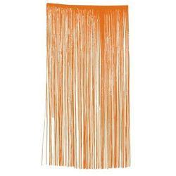 Kurtyna - zasłona na drzwi pomarańczowa - 100 x 200 cm