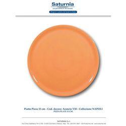 Hendi Talerz do pizzy Speciale porcelanowy pomarańczowy 330 mm - kod Product ID