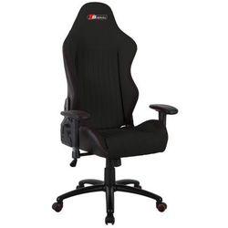 Fotel obrotowy SIGNAL Alpina - czarny - Fotel gamingowy dla gracza DOSTAWA GRATIS - ZŁAP RABAT: KOD70