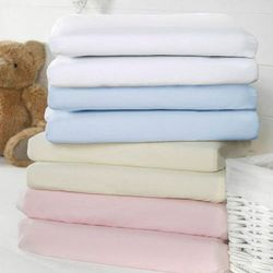 Bizzi Growin Pink Sheets 2 Pack Prześcieradełka różowe do wózków i koszy