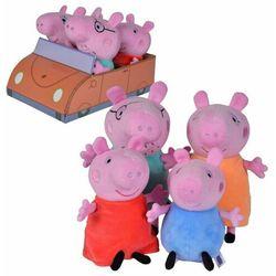 Świnka Peppa. Rodzina świnki w aucie