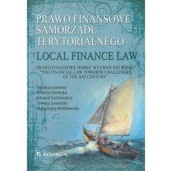 Prawo finansowe samorządu terytorialnego/ Local fuinance law (opr. twarda)