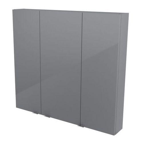 Szafki łazienkowe, Szafka wisząca GoodHome Imandra 100 x 90 x 15 cm szara