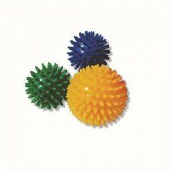 Piłka rehabilitacyjna z kolcami TGR PRJ 101 C kolor zółty - rozm. 8cm