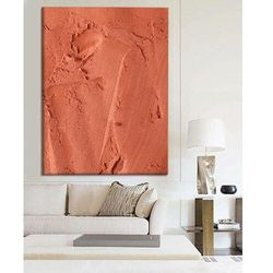 SALMON - Ekstrawagancki nietypowy obraz na ścianę do nowoczesnego modnego pomieszczenia rabat 40%