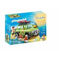 Klocki dla dzieci, Playmobil Samochód suv 4x4 kajaki jeep 9154