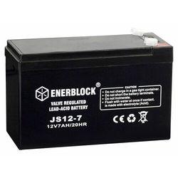 Akumulator ENERBLOCK AGM JS12-7 12V 7 Ah