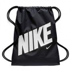Nike Performance GRAPHIC GYMSACK Torba sportowa black/black/hyper crimson