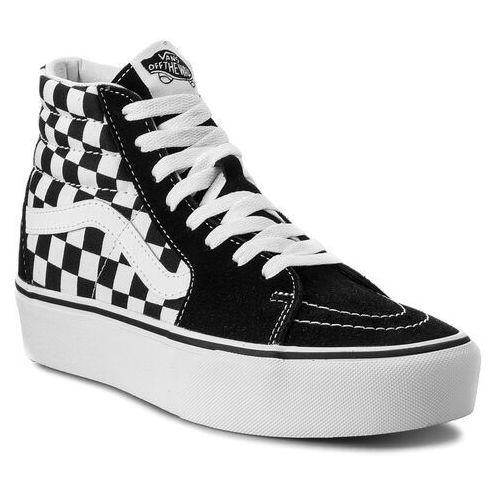 Pozostały skating, Sneakersy VANS - Sk8-Hi Platform 2 VN0A3TKNQXH Checkboard/True White