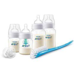 Avent Zestaw butelek antykolkowych z nakładką AirFree™