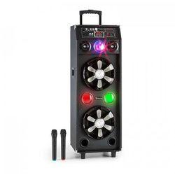 auna DisGo Box 2100 mobilna kolumna głośnik DJ z oświetlneniem Disco 100w RMS Bluetooth