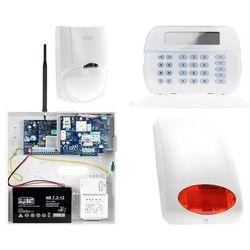 Zestaw alarmowy DSC 1x Czujnik ruchu Manipulator LCD Powiadomienie, Sterowanie, Konfiguracja GSM