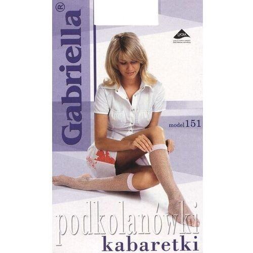 Podkolanówki, Podkolanówki Gabriella 151 kabaretki ROZMIAR: uniwersalny, KOLOR: grafitowy, Gabriella