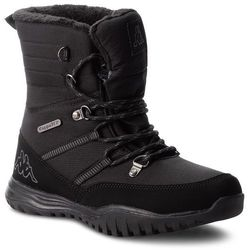 Śniegowce KAPPA - Balto Tex 242364 Black/Grey 1116