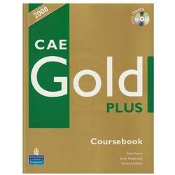 CAE Gold Plus Coursebook z płytą CD (opr. miękka)