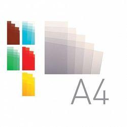 Okładki do bindowania A4 folia przezroczysta brązowa O.CLEAR Standard 100ark. OPUS