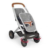 Wózki dla lalek, Spacerówka dla bliźniąt filc Maxi Cosi Quinny