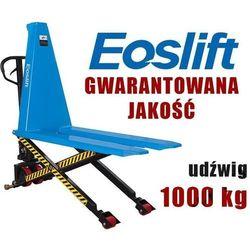 WÓZEK PALETOWY PALECIAK WIDŁOWY NOŻYCOWY KRZYŻOWY MAKTEK Eoslift SLT10 1T 1000KG 1150mm GERMANY promocja (--72%)