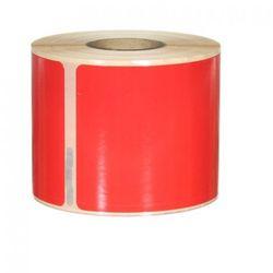 Etykiety samoprzylepne Dymo 99014 czerwone - 54x101mm, 220 szt.