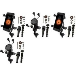 Ram Mounts Uniwersalny uchwyt X-Grip™ do przenośnych urządzeń np. smartfon lub nawigacja samochodowa montowany w trzon widelca w