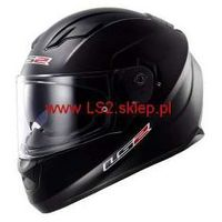 Kaski motocyklowe, KASK LS2 FF320 STREAM SOLID MATT BLACK BLENDA - Nowość roku!