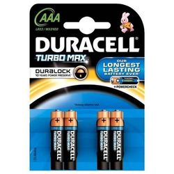 Baterie DURACELL Turbo Max AAA 4szt.
