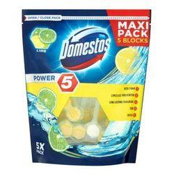 Kostka toaletowa Domestos Power 5 Lime 5 x 55 g