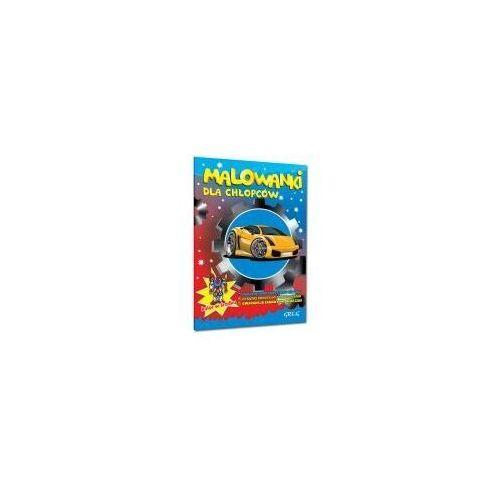 Książki dla dzieci, Malowanki dla chłopców. (opr. broszurowa)